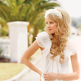 hair extensions wedding pictures