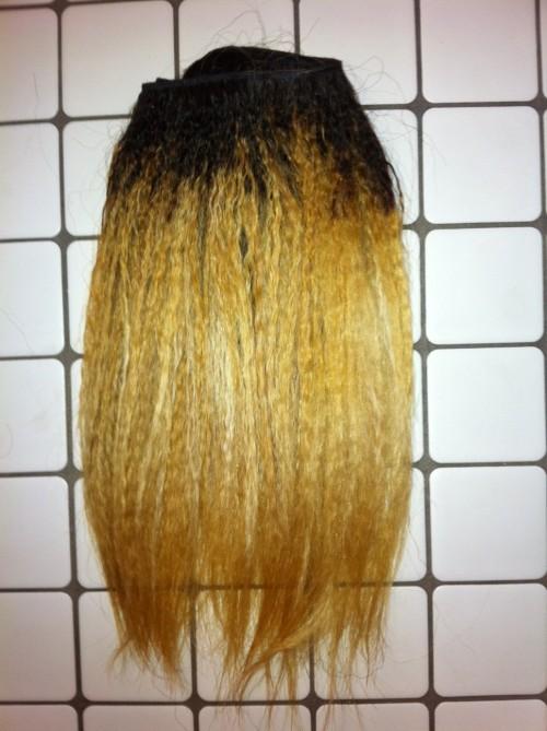 Lighten virgin remy hair extensions