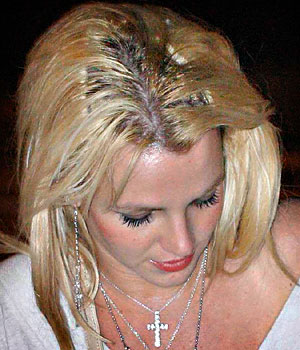 britney spears hair extensions