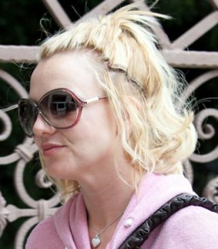 britney spears ugly hair extensions