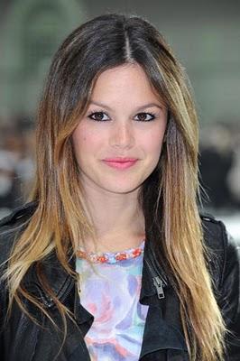 Rachel Bilson Ombre hair style
