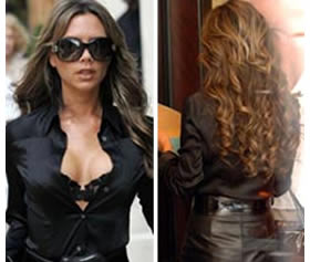 Fake hair vs real hair extensions hair extensions club blog victoria beckham hair extensions pmusecretfo Choice Image